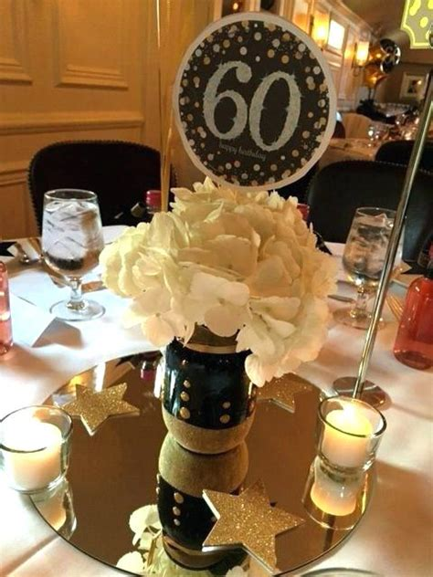 black and gold centerpieces ideas size of and gold
