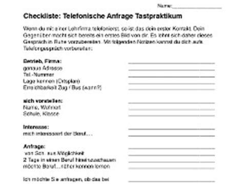 Telefonische Bewerbung Checkliste Telefonieren 16
