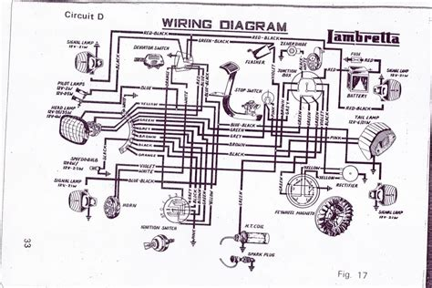 wonderful lambretta wiring diagram gallery electrical