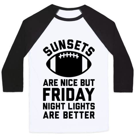 Friday Lights Clothing by Human Sunsets And Friday Lights Clothing Baseball