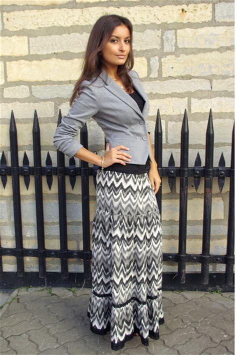 gray maxi skirt dress ala
