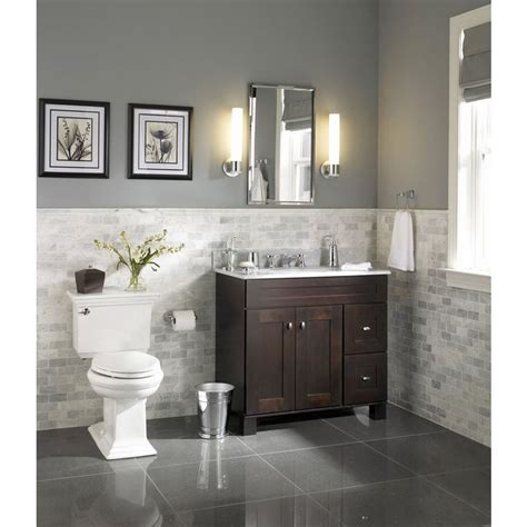 allen und roth badezimmer bathroom stylish ballantyne vanity allen roth 30 in mocha