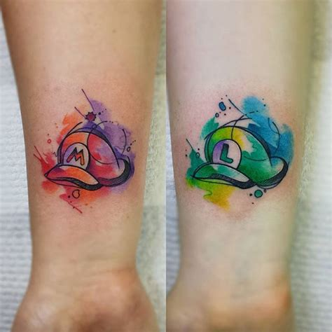mario tattoo you instagram 242 best images about tatouages tattoos geek on