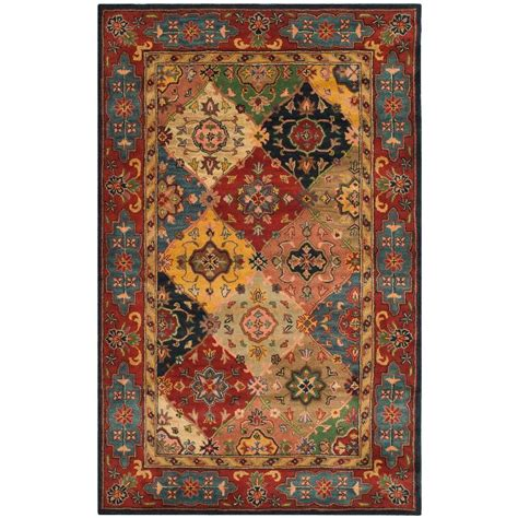safavieh heritage accent rug in red multi hg926a 2 safavieh heritage red multi 6 ft x 9 ft area rug hg926a