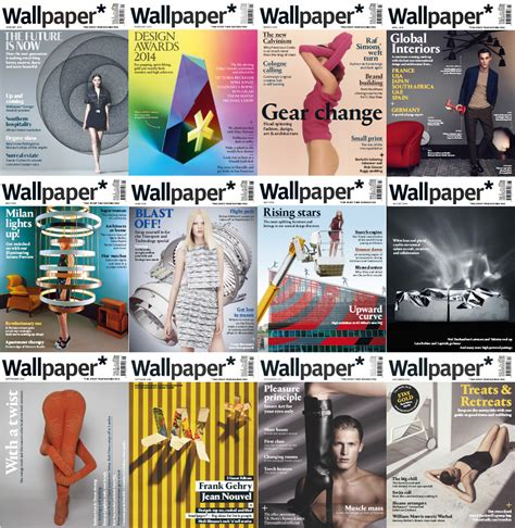wallpaper magazine free download wallpaper magazine 2014 full year issues collection