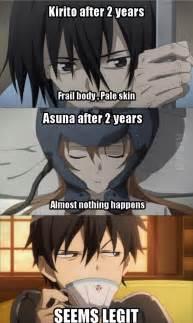 Otaku meme 187 anime and cosplay memes 187 kirito
