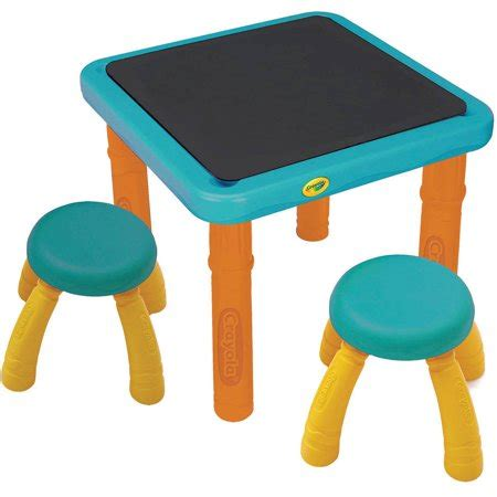 Crayola Table And Stool by Crayola Sit N Draw Activity Table And 2 Stools