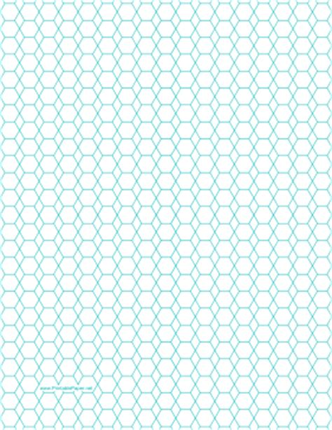 printable paper hexagon printable hexagon and diamond graph paper with 1 4 inch