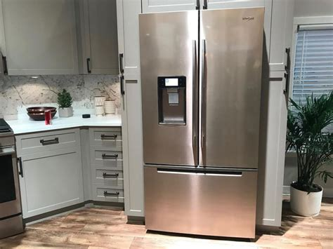 whirlpool sunset bronze appliances less is more with whirlpool s clever connected fridge cnet