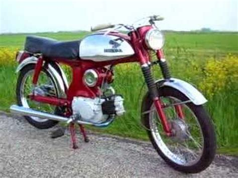 50ccm Motorrad Sound by Honda C320 4 Stroke Sound 50cc Motor Bike Oldtimer From