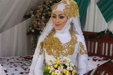 tutorial hijab pengantin muslim modern tutorial hijab kebaya pengantin muslim modern 1