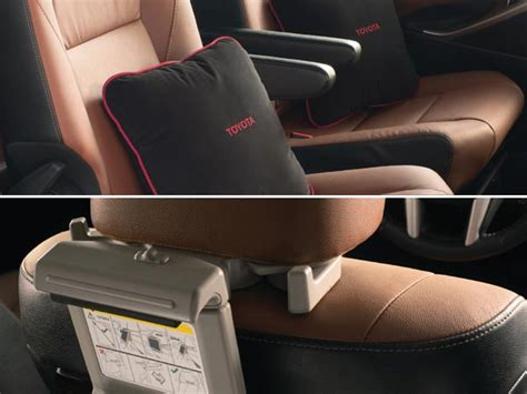 Innova Interior Accessories by New Toyota Innova Crysta Accessories List Drivespark