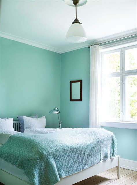 mint blue bedroom scandinavian mint bedroom interiors by color