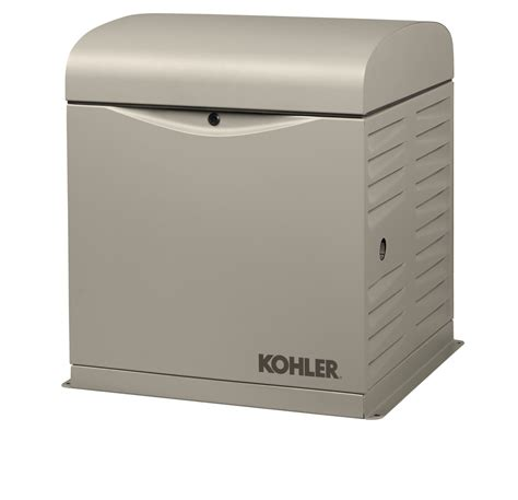 kohler s 8 kilowatt home standby generator provides backup