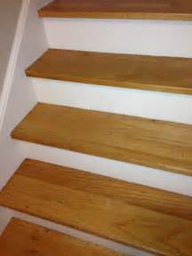 Replacement Oak Stair Treads by White Oak Stair Treads Replacing Oak Stair Tread
