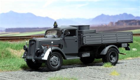 german opel blitz truck german opel blitz truck from atlas editions o scale models