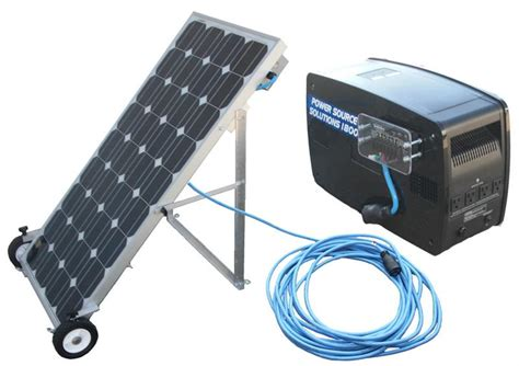 Small Home Solar Power Generator Solar Powered Generator