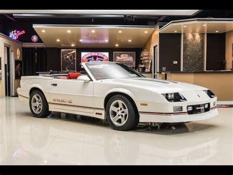 1989 chevrolet camaro iroc z28 convertible for sale youtube