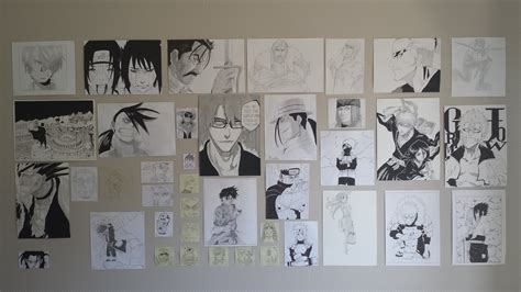 Bathroom Wallpaper Ideas wall manga drawing by leboubou on deviantart