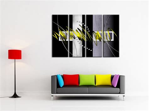 Decoration Murale Design Peinture by D 233 Coration Murale Design Tableau D 233 Co Pas Cher Sur Hexoa Fr