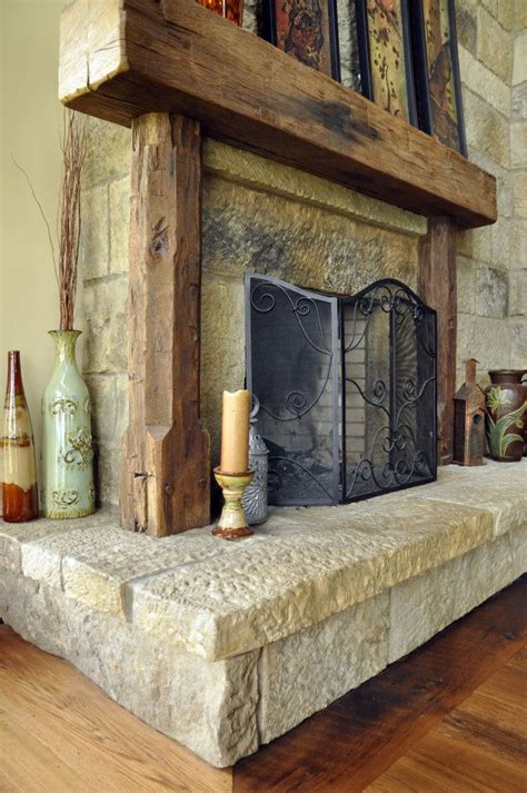 Wooden Beam Fireplace by Wood Beam Mantle Ideas For Spaces