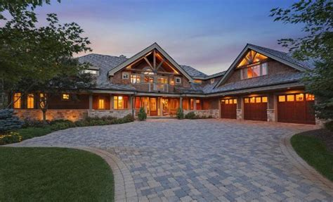 $2.5 Million Rustic Mansion In Lake Elmo, MN   Homes of