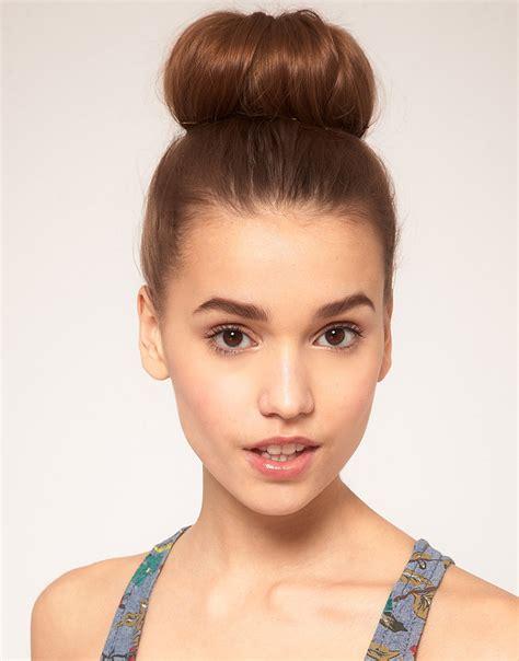 Hair Styler Bun by Hair Donut Bun Ring Shaper Hair Styler Maker Brown Black