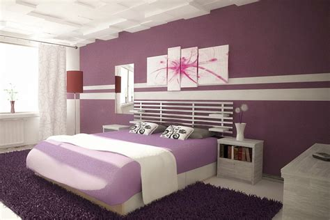 purple bedroom paint design ideas cheap and easy of cool ways to paint your
