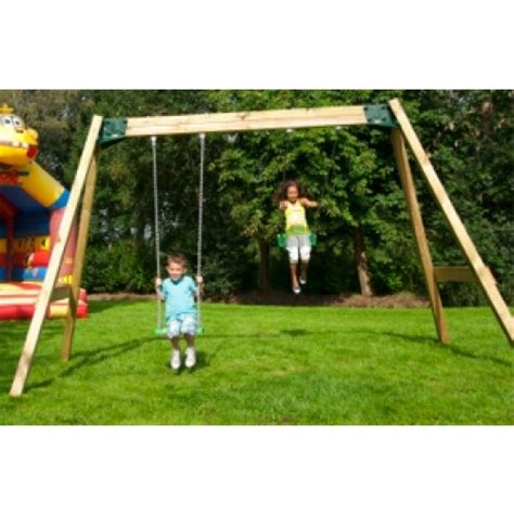 garden swing and slide set uk swing sets active garden