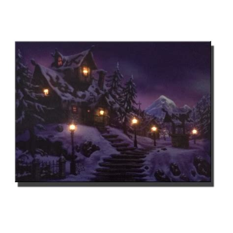 canvas with led lights 6pcs led lights free shipping wall with led canvas