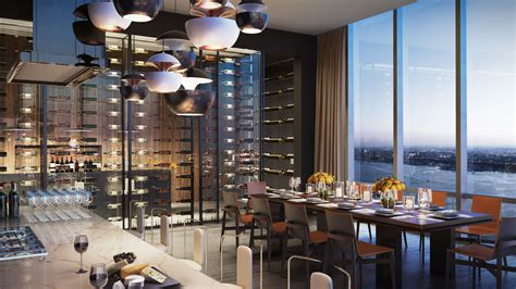 10 Hudson Yards 51st Floor New York Ny 10001 Usa - these nyc residential buildings with amenities for wine