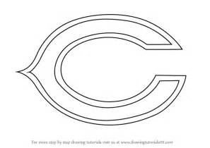 learn how to draw chicago bears logo nfl step by step