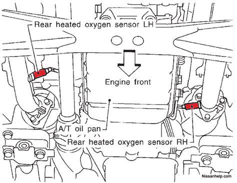 2007 nissan pathfinder o2 sensor wiring diagram wiring