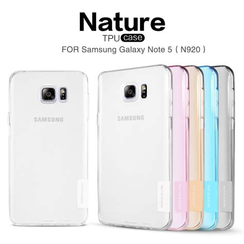 Back Soft Samsung N920 Note 5 1 Handphone Tablet sfor samsung galaxy note 5 nillkin nature series soft back cover tpu for samsung