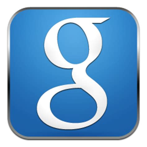 google icon simple rounded social iconset graphicsvibe