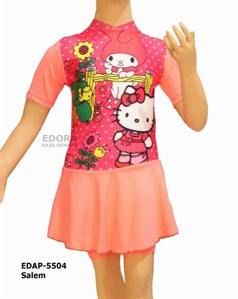 Baju Renang Anak Karakter Baju Renang Anak Perempuan Karakter Edap Baju Renang Muslim