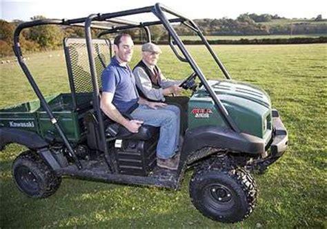 farmers weekly interactive tests five diesel utvs on the