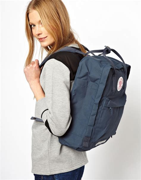 colors bigg lyst fjallraven big backpack in blue