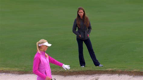 jessica korda golf swing jessica korda explains how to hit golf bunker shots golf