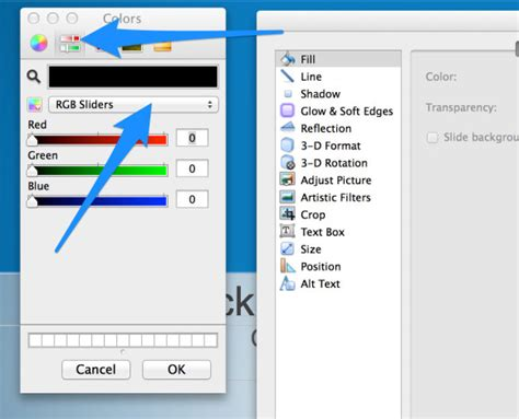 custom layout ppt vba how to set rgb colors in powerpoint