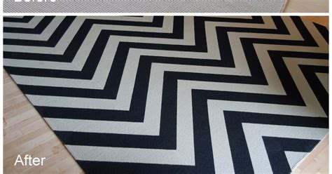 paint a rug diy chic and cheap lifestyle diy painted chevron rug htm alfombra en zig zag