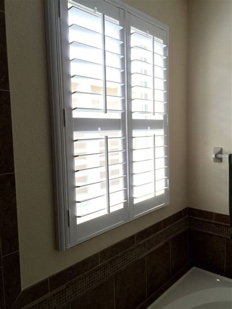 waterproof bathroom window coverings 1000 images about shutters on patio