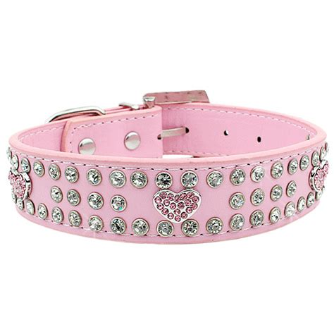 pink collars duchess diamonette collar pink collars and clothes at glamourmutt