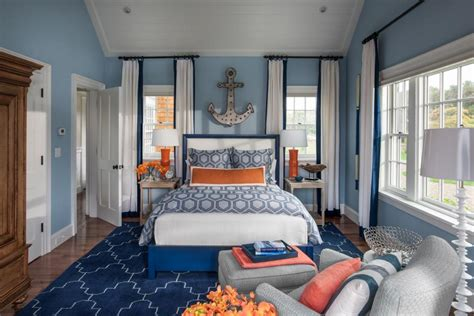 royal blue painted bed room furnitureteams