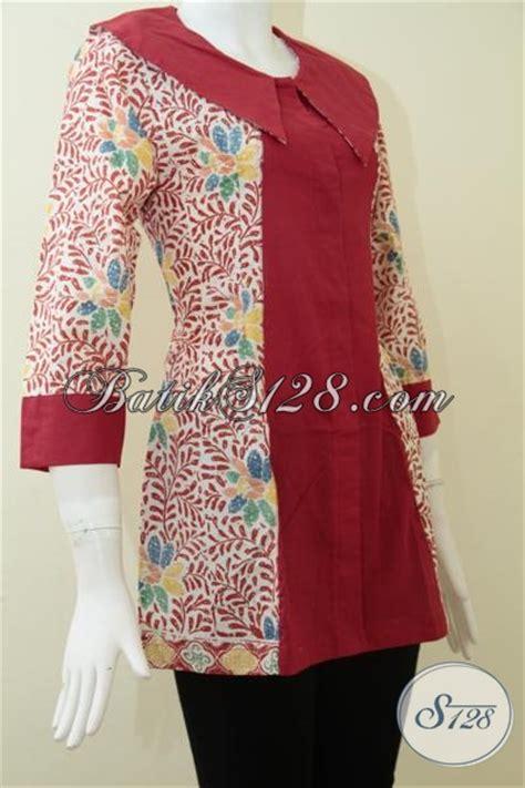 Baju Pria Pakaian Busana Kemeja Pendek Motif Batik Murah 11 busana batik wanita motif modern dengan kombinasi warna keren baju batik kerja perempuan muda