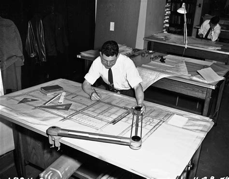 Drafting Table Wiki File Drafter Working In Seattle Engineering Department 1959 Gif Wikimedia Commons