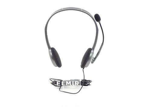 Headset Logitech H 110 Stereo Garansi 1 Tahun наушники logitech h110 stereo headset 981 000271 купить недорого обзор фото видео отзывы