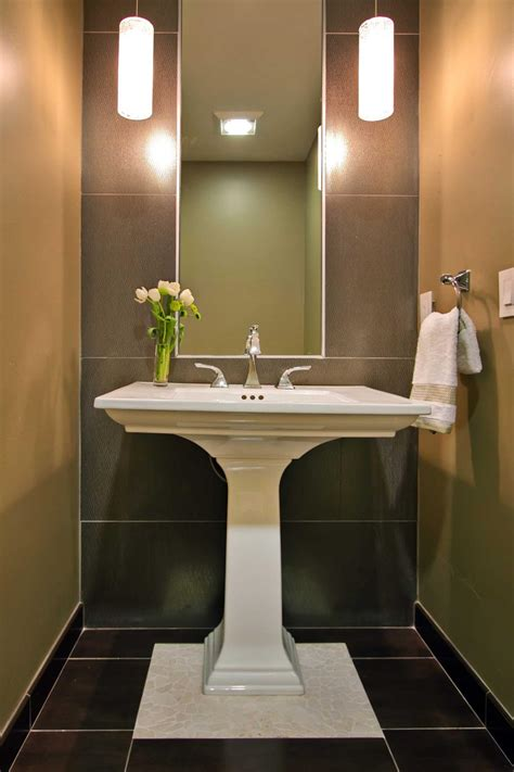 powder room with pedestal sink photos hgtv