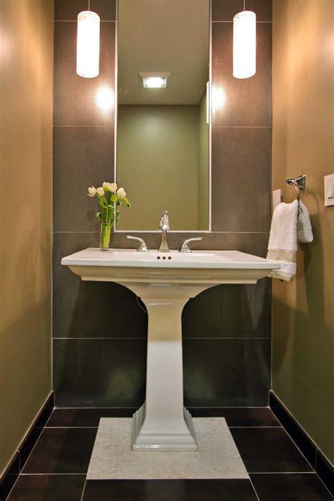 powder room pedestal sink photo page hgtv