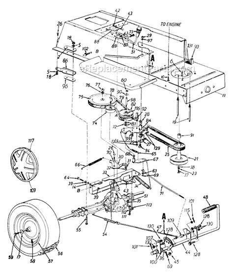 mtd wiring schematic wiring diagram with description